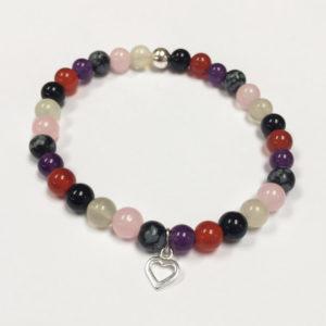 Crystal Healing Bracelet – Grieving
